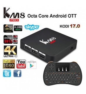 KM8 Pro Android 6.0 TV Box  -  2GB RAM + 16GB ROM