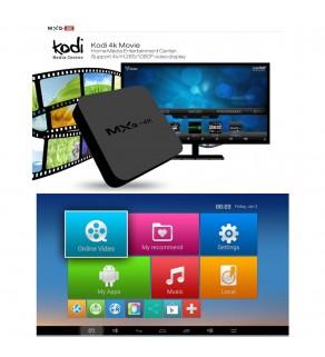 MXQ 4K RK3229 Smart TV Box KODI 15.2 Preinstalled Android 5.1