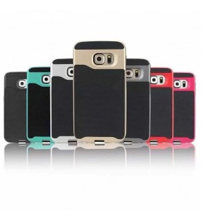 SLINE Dual Frame Bumper back case - Samsung