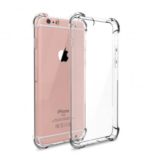 Transparent Shockproof Gel Case - Samsung