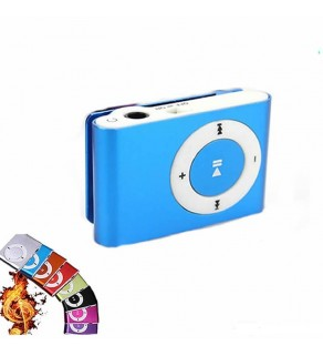 Mini Clip Digital Mp3 Music Player USB with SD card Slot