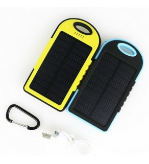 Waterproof Solar Power Bank with LED Lighting