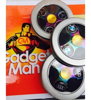 Petrol Coloured Car Fidget Spinners