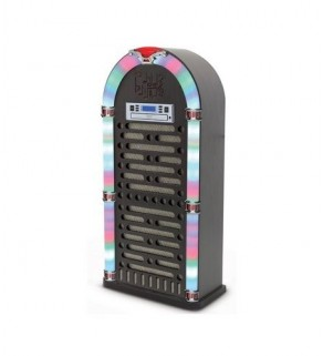 iTek I60017 Bluetooth Multi Functional LED Jukebox Speakers Radio, CD player