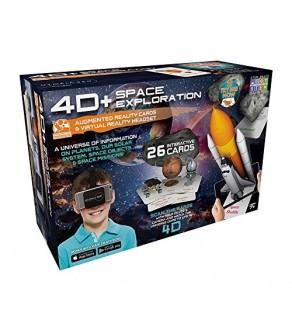 4D Space exploration VR Headset