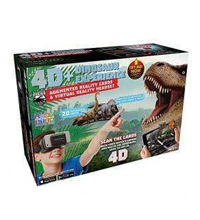 4D Dinosaur Experience vr headset