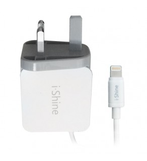 I-shine Mains charger with lightning Cable
