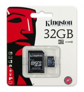 32gb Kingston Micro SD Card with Adapter