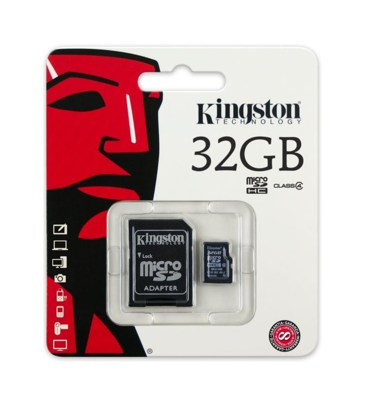 8gb Kingston Micro SD Card with Adapter