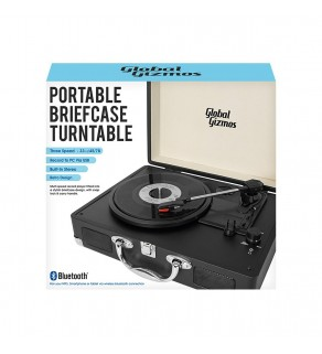 Portable Briefcase Turntable