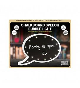 Chalkboard Speech Bubble Light