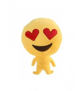 "Emoji Doll ""Love Heart Eyes"" Cushion"