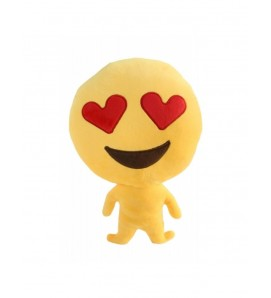 "Emoji Doll ""Love Heart Eyes"" Cushion"