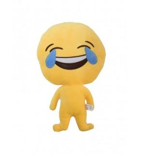 "Emoji Doll ""Laughing"" Cushion"