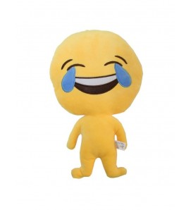 "Emoji Doll ""Laughing"" Cushion"