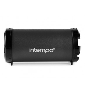 Intempo Tube Speaker Black
