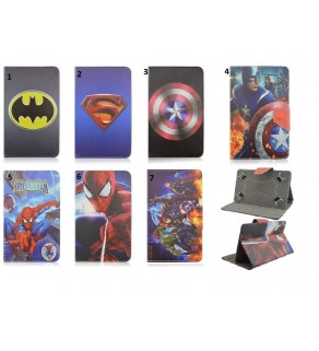 Universal Marvel Comic Tablet Cases