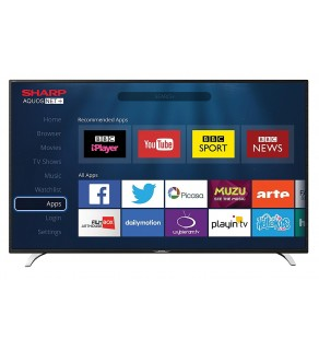 """40"""" Widescreen Full HD 1080p LED LCD Smart TV with Freeview HD HDMI & USB Media/Record"""