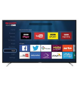 "40"" Widescreen Full HD 1080p LED LCD Smart TV with Freeview HD HDMI & USB Media/Record"
