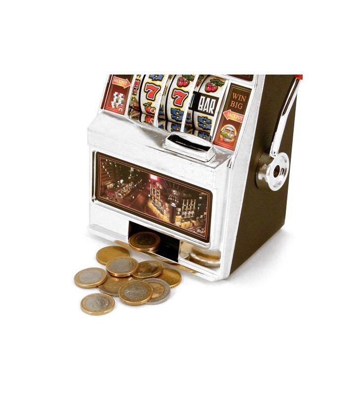 Savings Bank Slot Machine