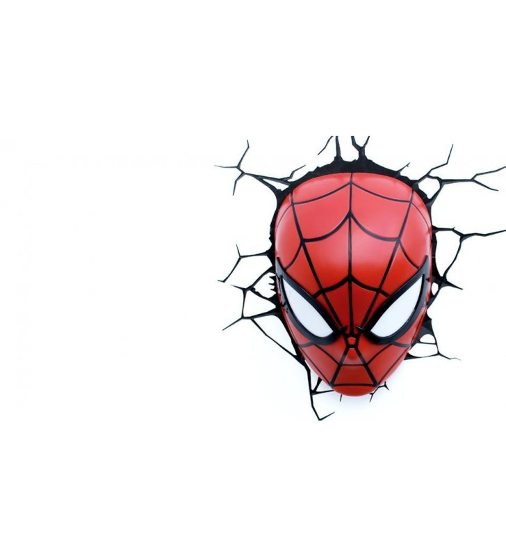 Spider-Man Mask Light 3D Wall Light For Kids Bedrooms