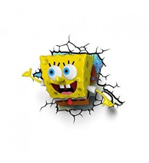 SpongeBob 3D Deco Wall Light / Night Light