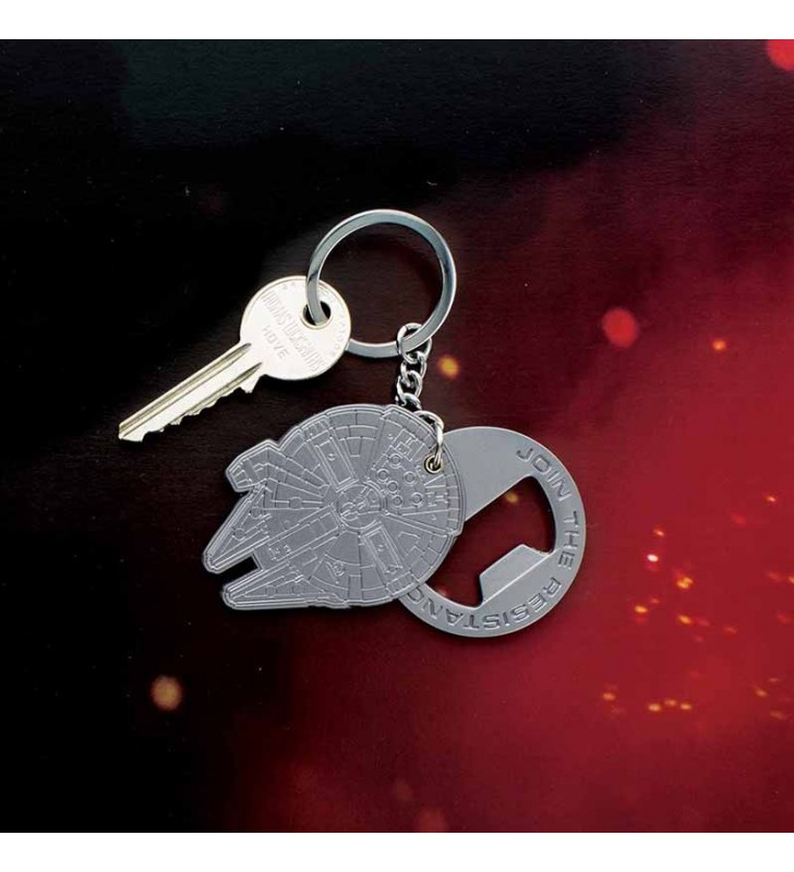 Star Wars Millenium Falcon Keyring/Bottle Opener