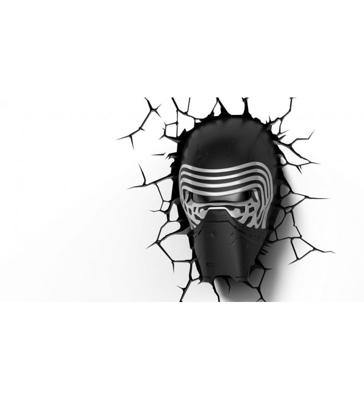 Star Wars Kylo Ren 3D Wall Light
