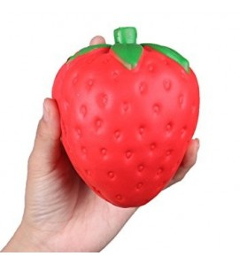 Large 12 cm Strawberry Squishy
