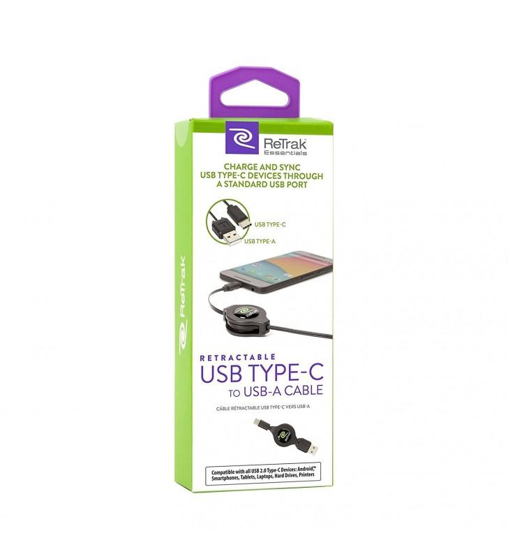 Retrak USB - Type C Retractable Cable