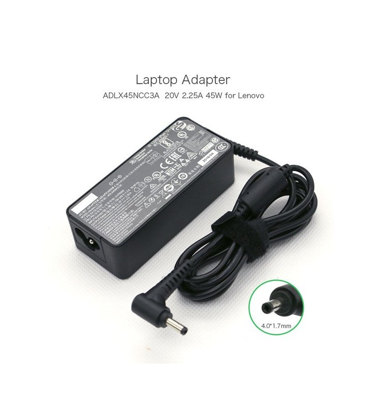 Lenovo laptop charger 20V 3.25A 65W 11 x 4mm