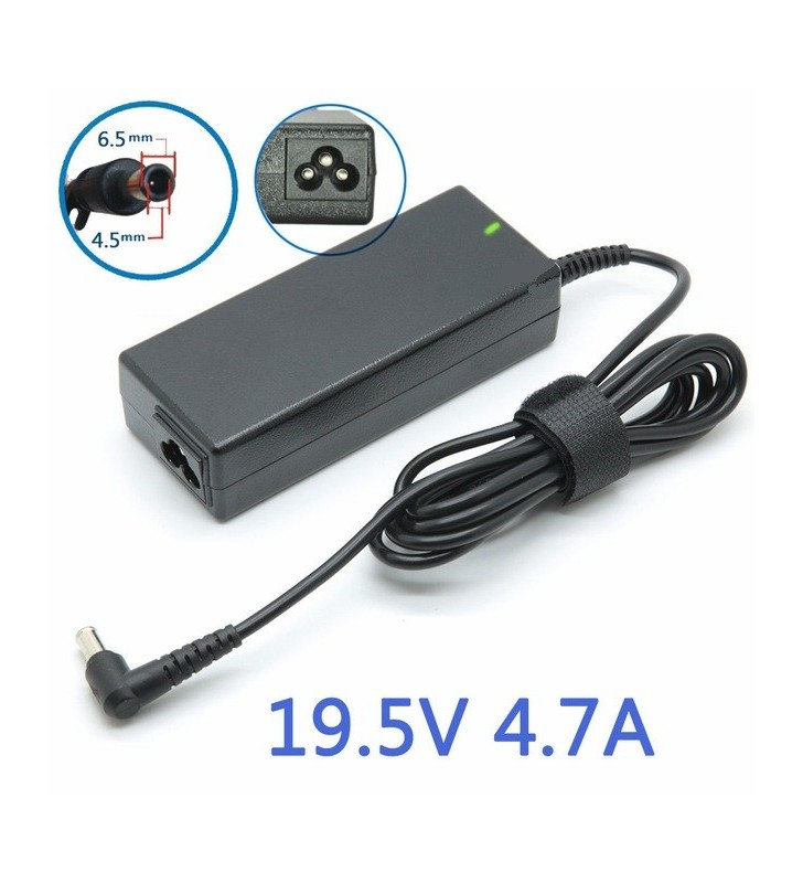 Sony laptop charger 19.5V 4.7A 90W 6.5 x 4.4
