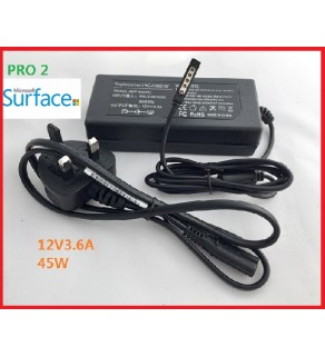 Surface RT / Pro / Pro 2 12V 3.6A Laptop Charger