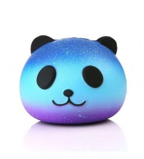 Purple Galaxy Panda Squishy Squishies