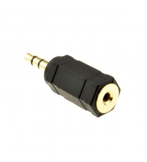 2.5mm Stereo Socket to 3.5mm Stereo Jack Adapter