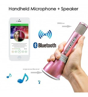 Mini Karaoke Bluetooth Microphone Speaker