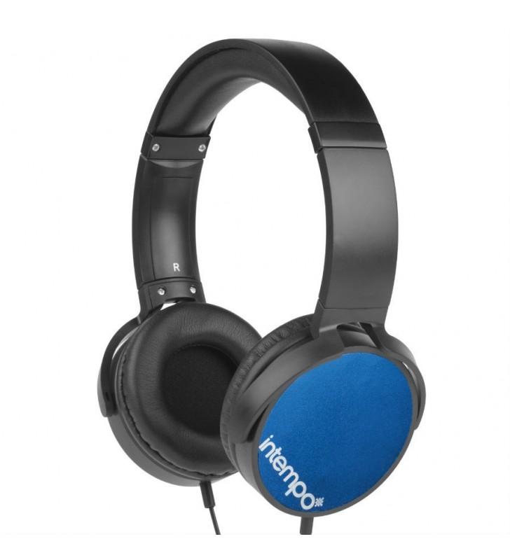 Intempo Blue Dynamic Headphones