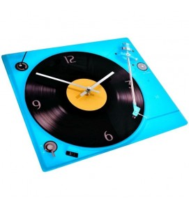 Glass Record Player Clock
