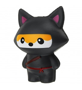 Ninja Fox Slow Rising Squishy Squishies
