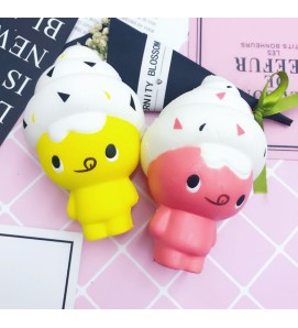 Ice Cream Bear Slow Rising Squishy Squishies