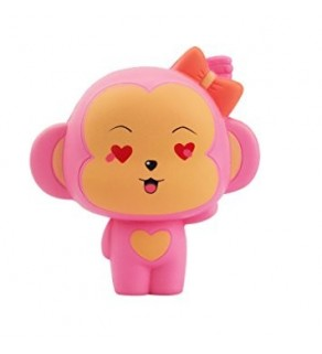 Pink Monkey Slow Rising Squishy Squishies