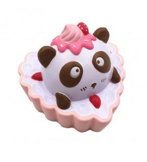 Large Panda Heart Cake Slow Rising Squishy Squishies