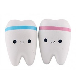 Large Tooth Slow Rising Squishy Squishies