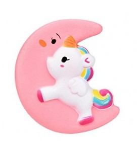 Large Moon Unicorn kawaii Slow Rising Squishy