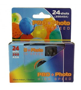 24 Shot Disposable Camera