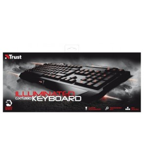 Trust Illuminated GXT 280 Gaming Keyboard