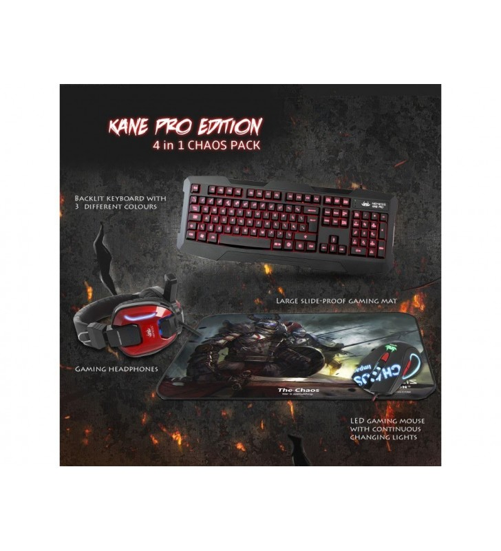 Kane pro edition 4 in 1 chaos pack