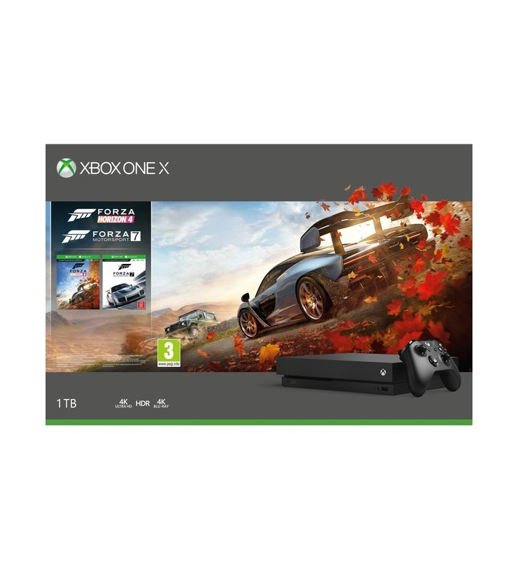 Xbox One X 1TB Forza Horizon 4 & Forza Motorsport 7 Bundle