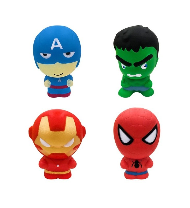 Marvel and DC Comic Squishy Squishies