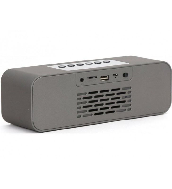 Platinet Alarm Clock Bluetooth Speaker